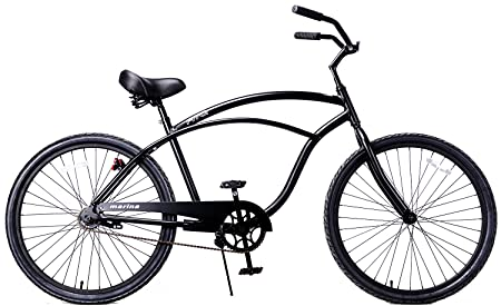 Fito Men s Marina Aluminum Alloy 1-Speed Beach Cruiser Bike