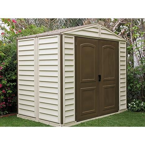 Caseta de jardín PVC WoodStyle 4,13 m2
