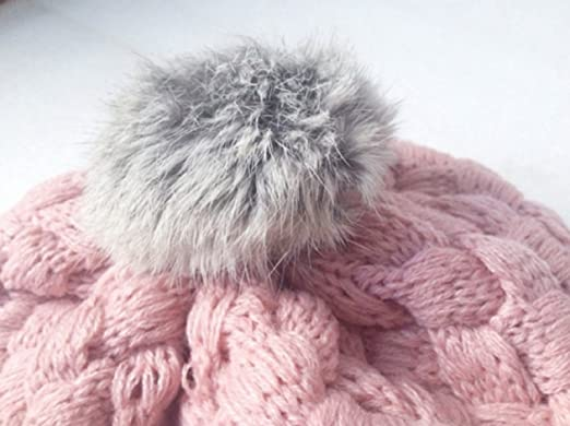 Amazon.com : Baby Hat Kids Baby Photo Props Beanie, faux Rabbit Fur ...