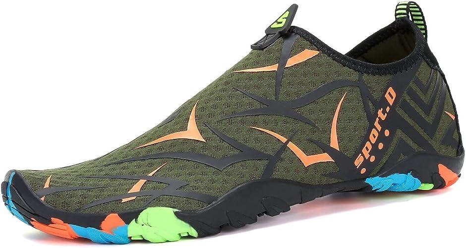 Amazon.com: Voovix - Zapatos de agua para hombre y mujer ...