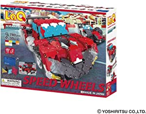 LaQ Hamacron Constructor Speed Wheels - 17 Models, 780 Pieces - Creative Construction Toy