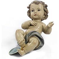 Bambinello Gesù bambino 21,5 cm in resina by Paben
