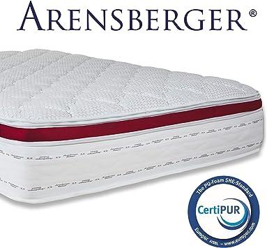 Arensberger Deluxx 9 Zonen Taschen Federkern Matratze Mit 3d Memory Foam Höhe 30 Cm 90 X 200 Cm Visco Kaltschaum