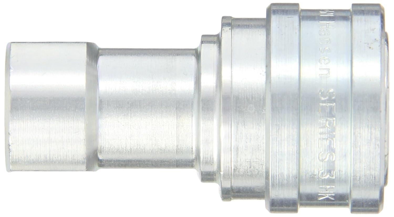 Socket 3//8-18 NPTF Female Eaton Hansen 3H21NV Steel ISO-B Interchange Hydraulic Fitting 3//8 Body 3//8-18 NPTF Female 3//8 Body