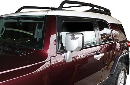 AVS Dark Smoke Side Window Deflectors For Toyota FJ Cruiser 2007-2014 894041