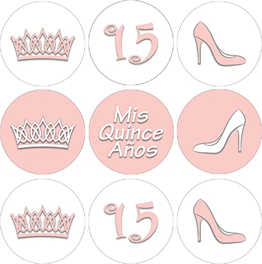 30 Quinceanera Favor Tags