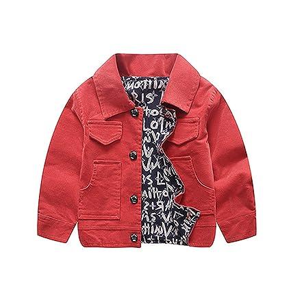 52b6e07abb64 Amazon.com  NOMSOCR Toddler Kid Boys Winter Warm Jacket Coat Fashion ...