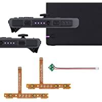 eXtremeRate Firefly LED Tuning Kit for Nintendo Switch Joycons Dock NS Joycon SL SR Buttons Ribbon Flex Cable Indicate…