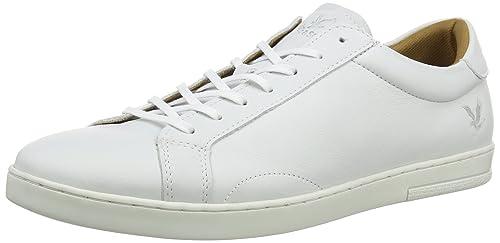 Lyle & Scott - Zapatillas para Hombre Blanco (001), Color Blanco, Talla