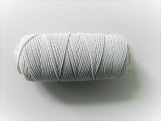 Bobina de hilo elástico, costura, hilos – Blanco 30 metros: Amazon ...