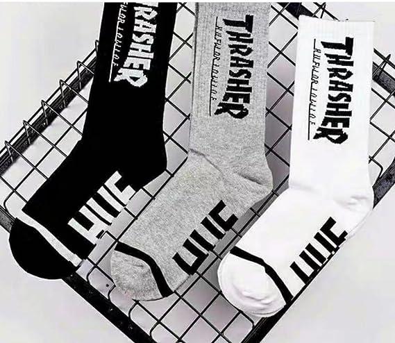 Unisex 100% Cotton Sock Sporting Socks (Black, 1) at Amazon Womens Clothing store: