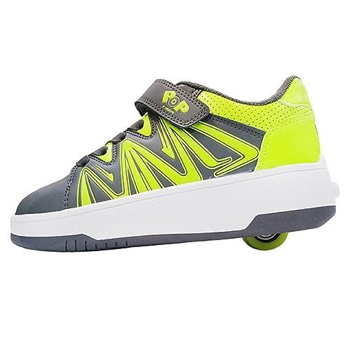 Heelys 770921P - Botines de Material Sintético Unisex Niños, Color, Talla 36.5 EU: Amazon.es: Zapatos y complementos