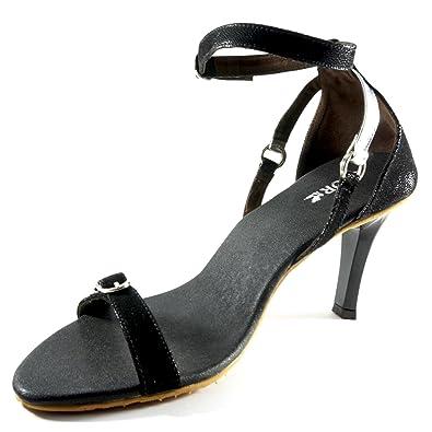 d7feba4cd SKOR Women Balck Designer Heels  Buy Online at Low Prices in India ...