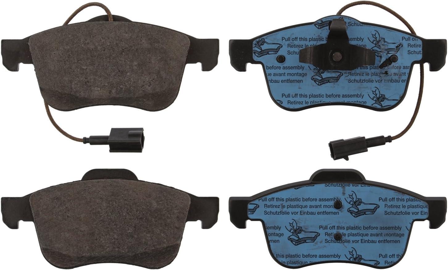 Disc Brake Pad Set Front FEBI For ALFA ROMEO Giulietta 940 10-77365354