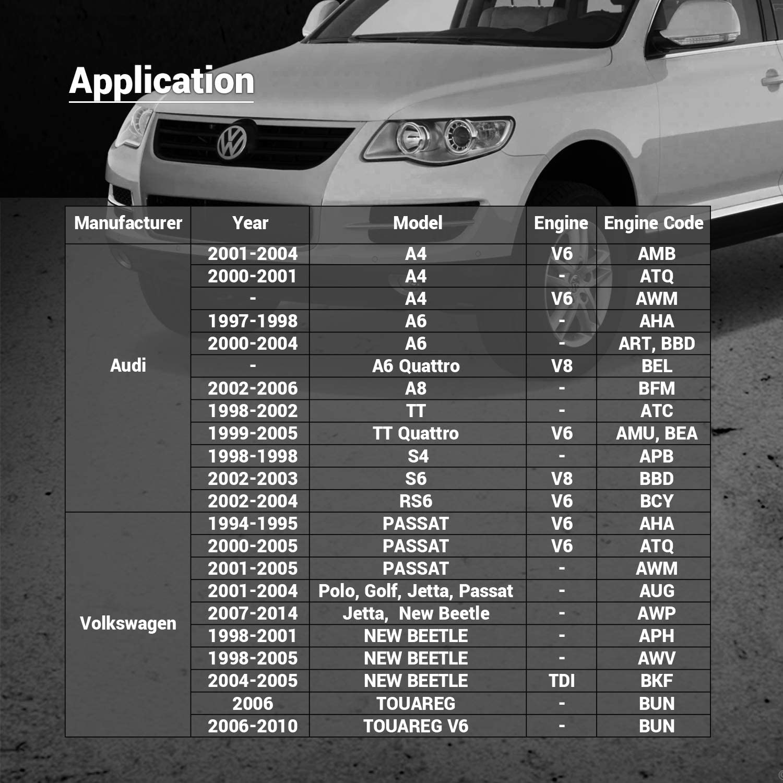 NEW 10 Audi A4 A6 A6 Quattro A8 A8 Quattro S4 TT VW Beetle Engine Valve Guide