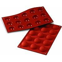 silikomart 20.005.00.0060 Stampi, Silicone, Rosso