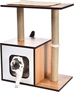 AmazonBasics Wooden Cat Furniture