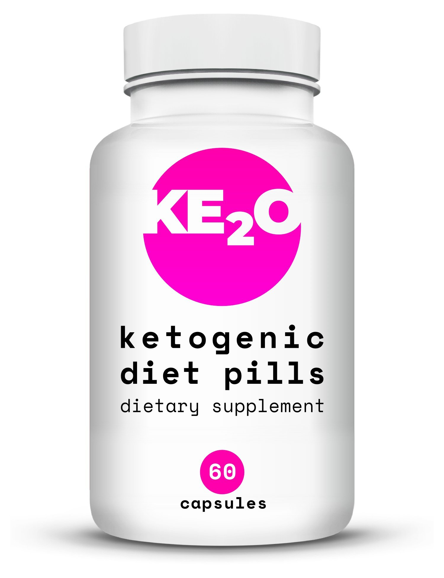 Keto Diet Pills for Weight Loss with Raspberry Ketones and Pure Garcinia Cambogia Extract- Best Natural Fat Burner - Advanced Metabolism Booster and Carb Blocker - for Men and Women - 60 Capsules