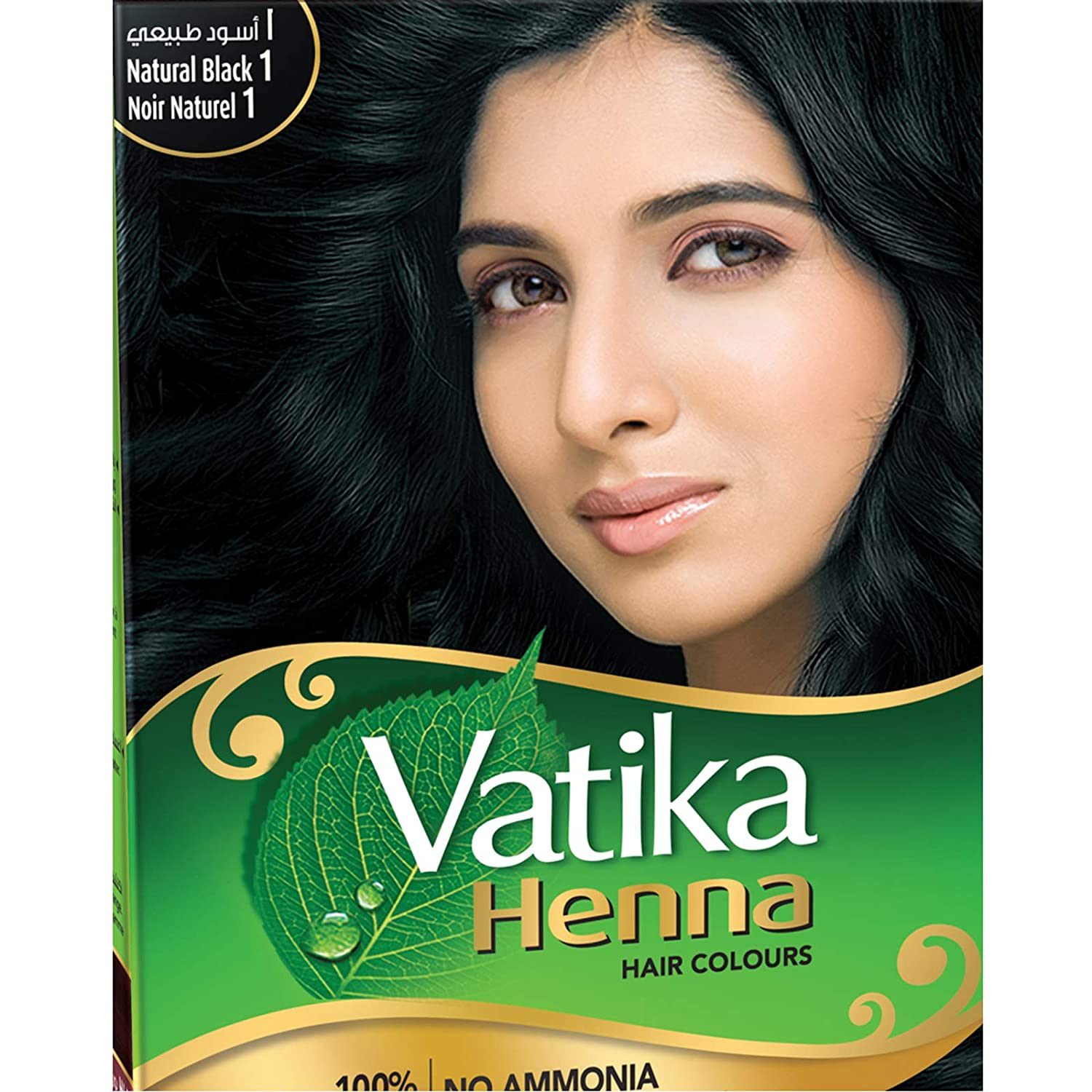 Amazon Com Vatika Henna Burgundy Hair Color Ammonia Free 60 G