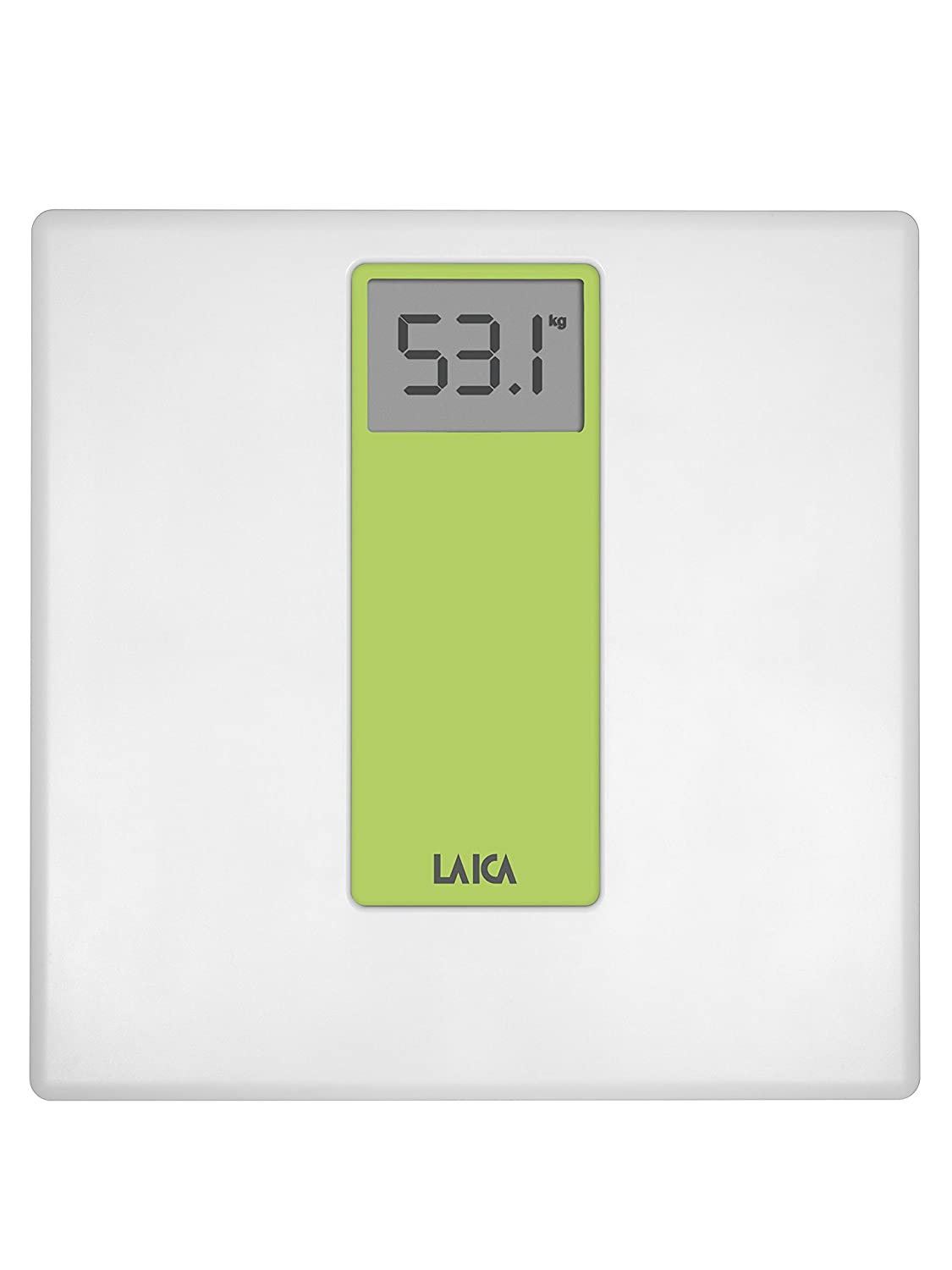 Laica Electronic personal scale, white/green PS1045E PS1045VE