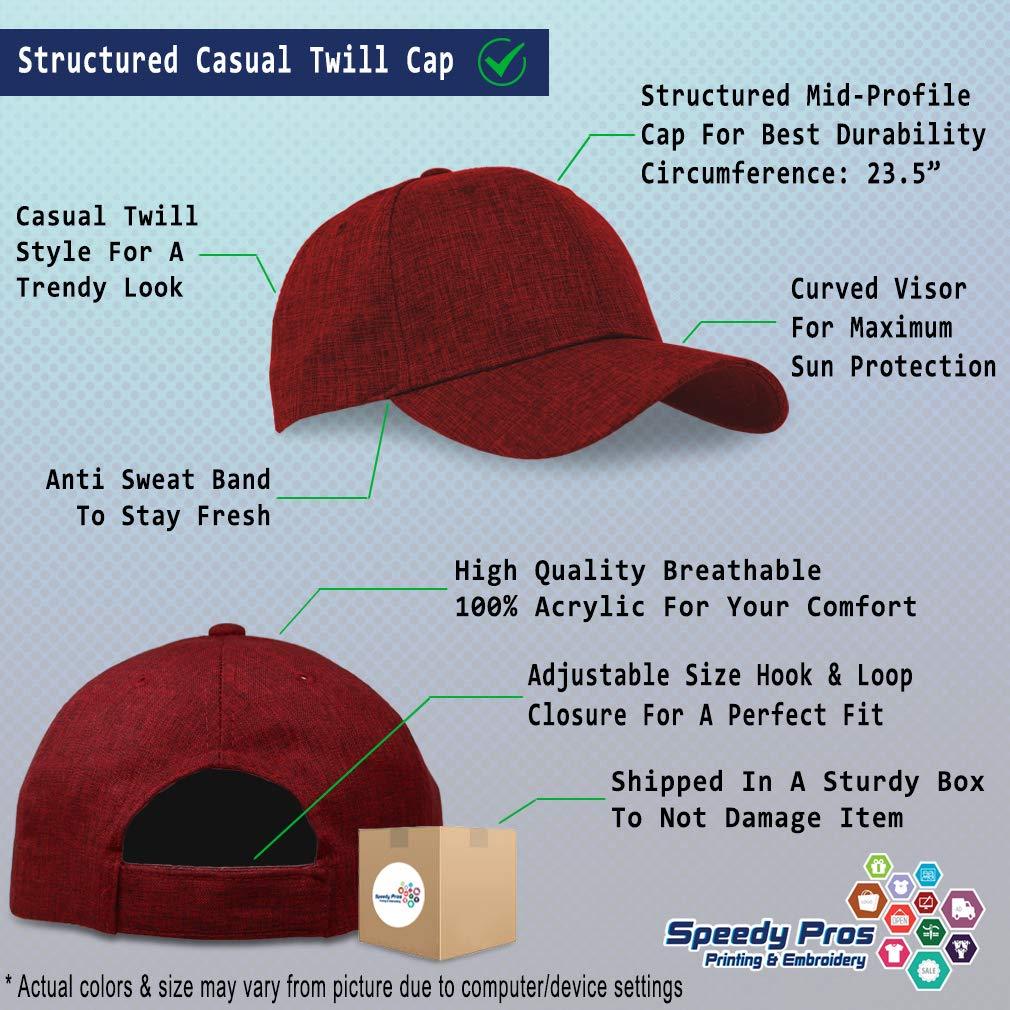 Custom Baseball Cap Yellow Peace Elephant Embroidery Casual Hats for Men /& Women