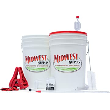 top best Beer. Simply Beer. - 5 Gallon Beer Brewing Starter Kit with Pale Ale Recipe Kit