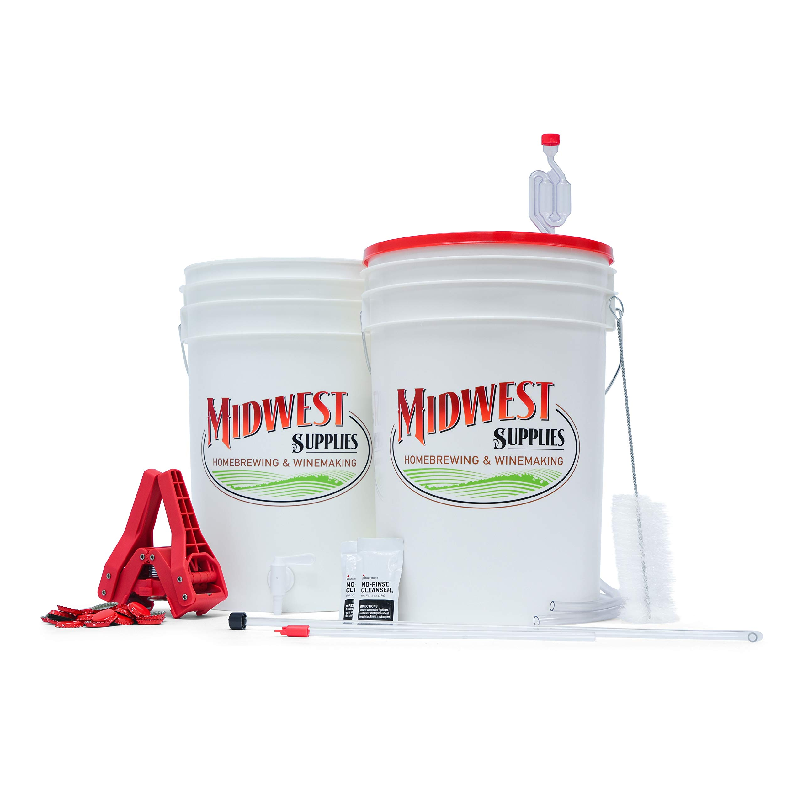 Midwest Supplies - Beer. Simply Beer. Starter Kit - Equipment for 5 Gallon Batches by Midwest Supplies