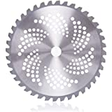 """40 Teeth/Tooth Alloy Circle Blade for Petrol Brush Cutters Strimmer 25.4mm Bore Diameter 10"""""""