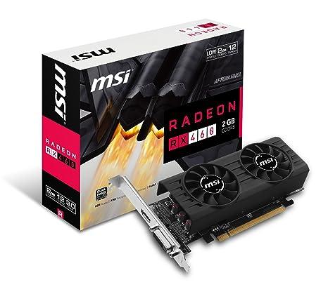 MSI RX 460 2 GT LP Juegos Radeon RX 460 2 GB GDDR5 Crossfire ...
