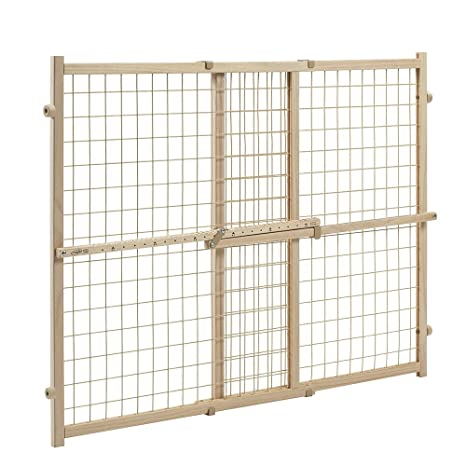 Evenflo Position and Lock Tall Pressure Mount Wood Gate   Amazon