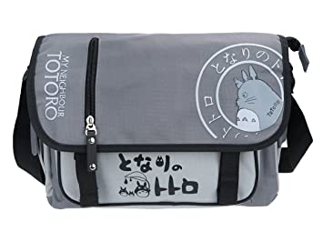 a5fca70037 CoolChange Totoro messenger bag grey  Amazon.co.uk  Toys   Games