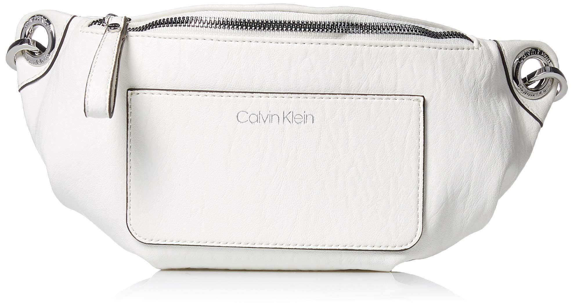 Calvin Klein Sonoma Bubble Lamb Novelty Belt Bag, white