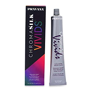 Pravana Chroma Silk Creme Hair color Vivids Wild Orchid 3 oz