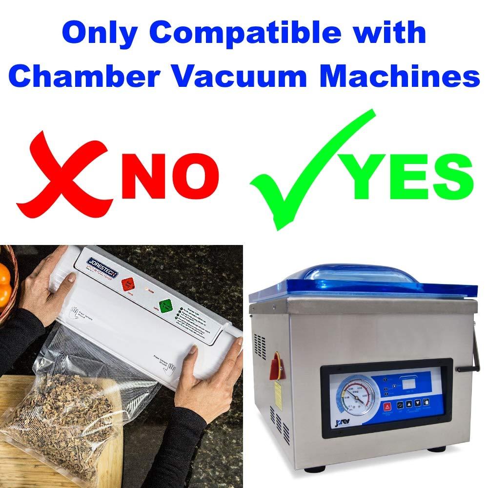 Vacuum Pouches 3 mil (Gauge) (500 Units) (14''x16'') by HAL Consumables