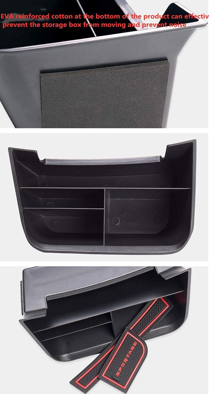 Muchkey Handschuhfach Armlehne Aufbewahrungsbox Center Console Armrest Storage Box Innen f/ür sportage 2018