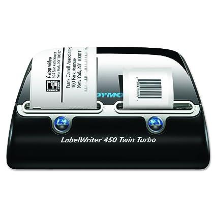 DYMO LabelWriter 450 Twin Turbo - Impresora de etiquetas (Térmica directa, 600 x 300