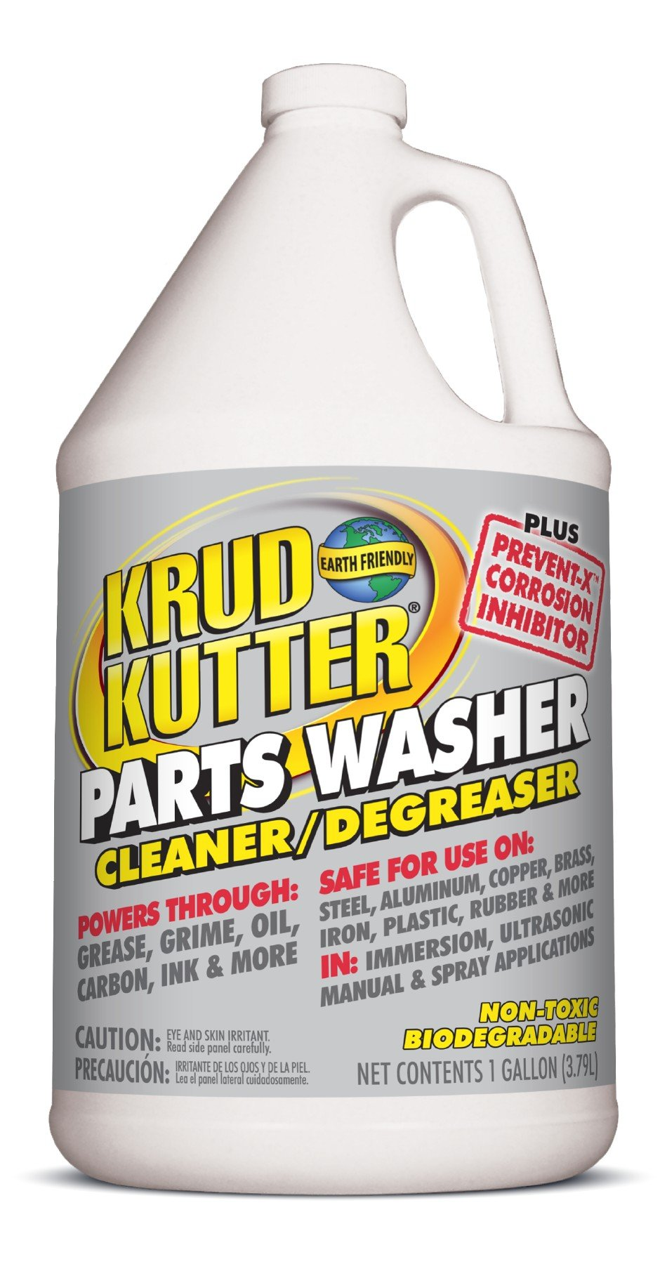 Krud Kutter EC01/2 Parts Washer Cleaner/Degreaser Plus Prevent-X, 1 gal