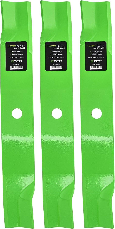 Stens 330-501 Hi-Lift Blade Fits John Deere M128485 M131958 M144196 M163983