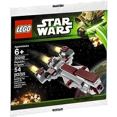 LEGO Star Wars Mini Building Set #30242 Republic Frigate [Bagged]: Toys & Games