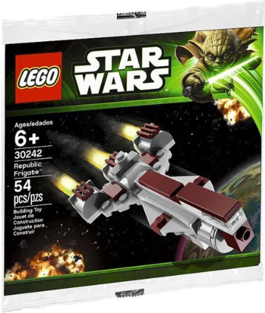 **NEW in Sealed polybag 1 REPUBLIC FRIGATE LEGO Star Wars Ep 30242 MINI