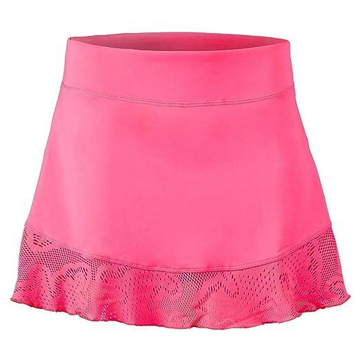 41cee42d59 Fila Women's Lure Flounce Skort, Pink Flamingo, XS at Amazon Women's ...