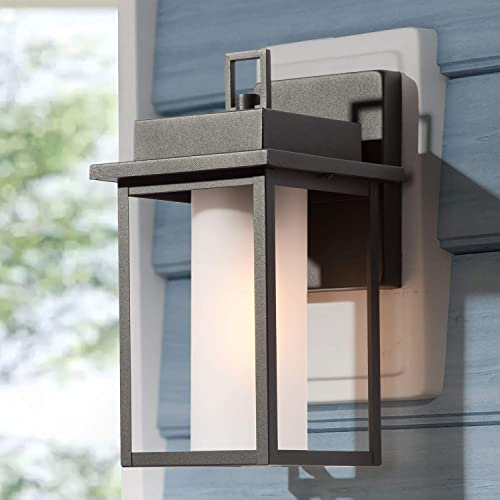 LALUZ Rectangle Outdoor Light Fixtures Wall Mount