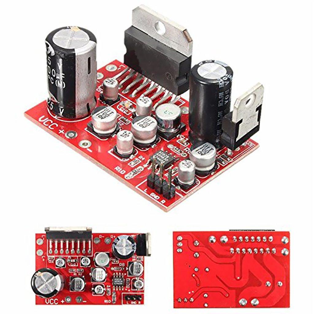 Sharplace Conjunto de Tablero de Amplificador TDA7379 con Preamplificador AD828 Electrónica de Consumo: Amazon.es: Electrónica