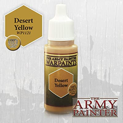 Army Painter WP1121 Warpaints - Desert Yellow, 18 ml: Toys & Games