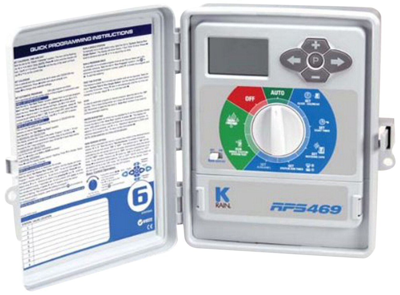 K-Rain RPS 469 9-Station 60 Hz Outdoor Controller 110-volt