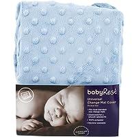 BabyRest Universal Change Mat Cover Twin Pack Blue