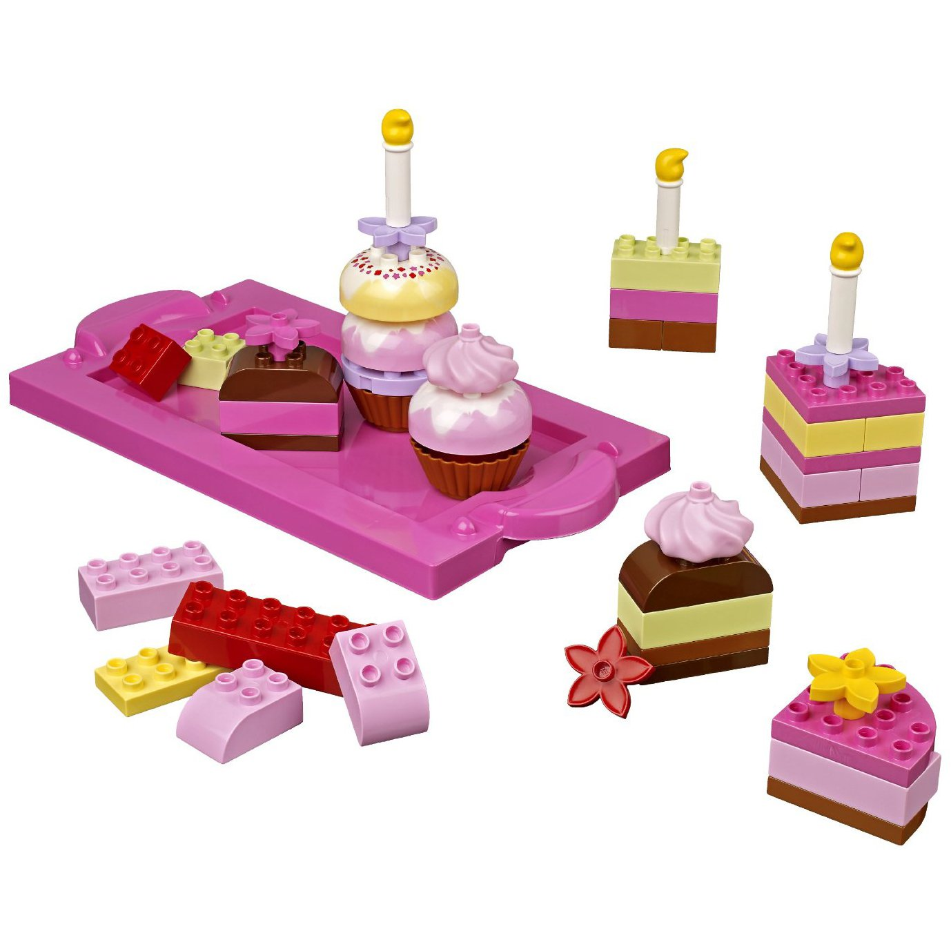 Amazoncom Lego Duplo 6785 Creative Cakes Toys Games