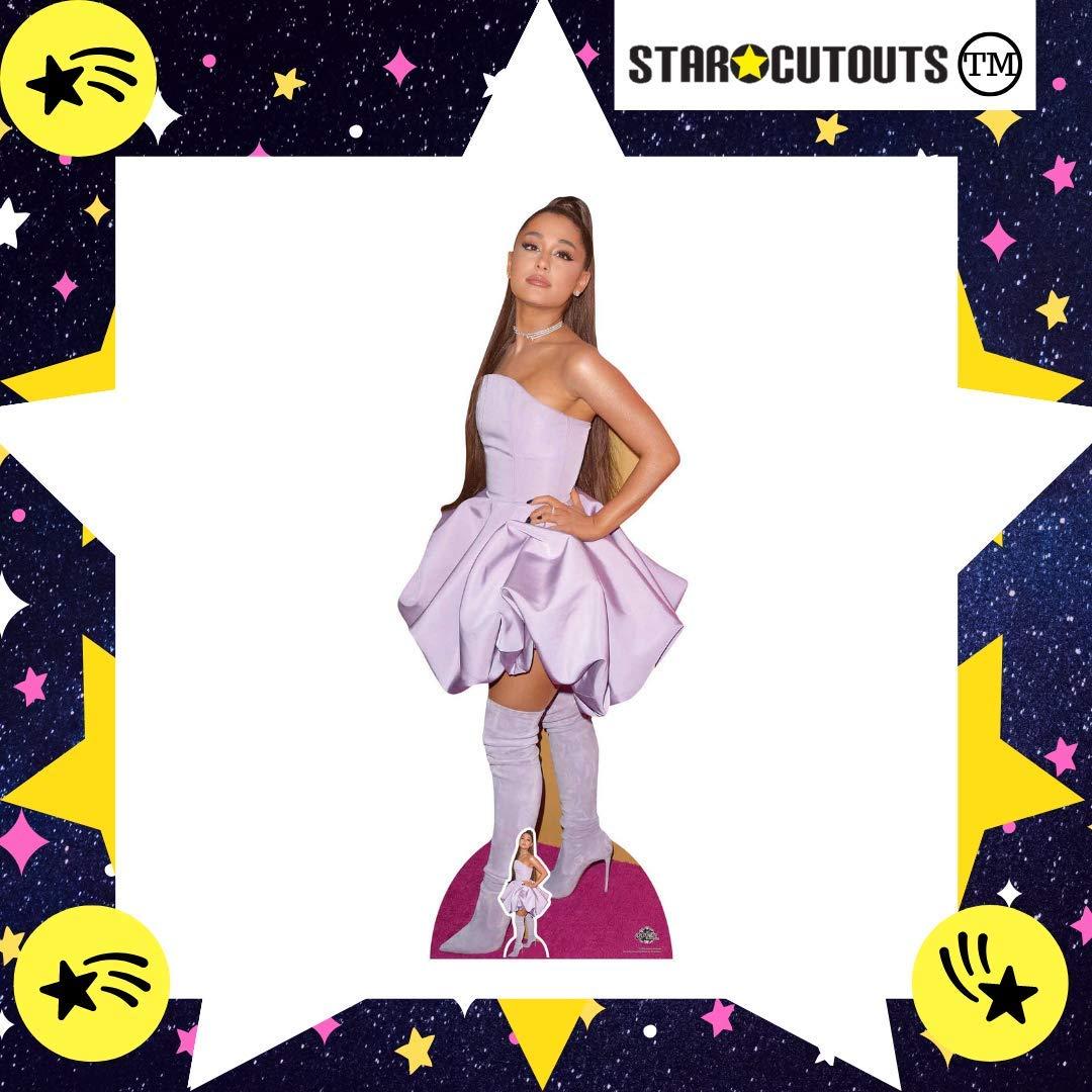Multicolore Star Cutouts- Ariana Grande-Sagoma in Cartone a grandezza Naturale Altezza 163 cm CS780