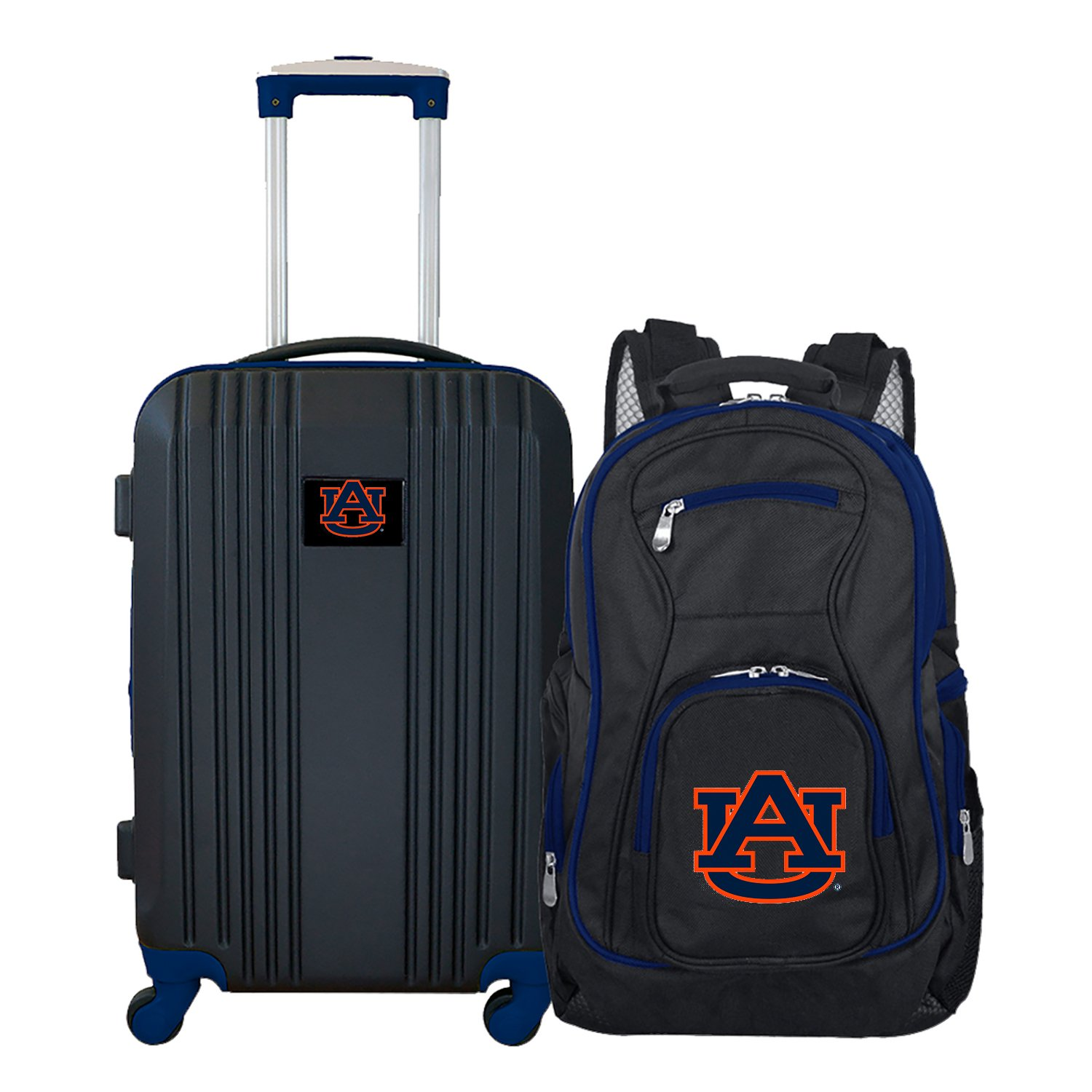 NCAA Auburn Tigers 2-Piece Luggage Set