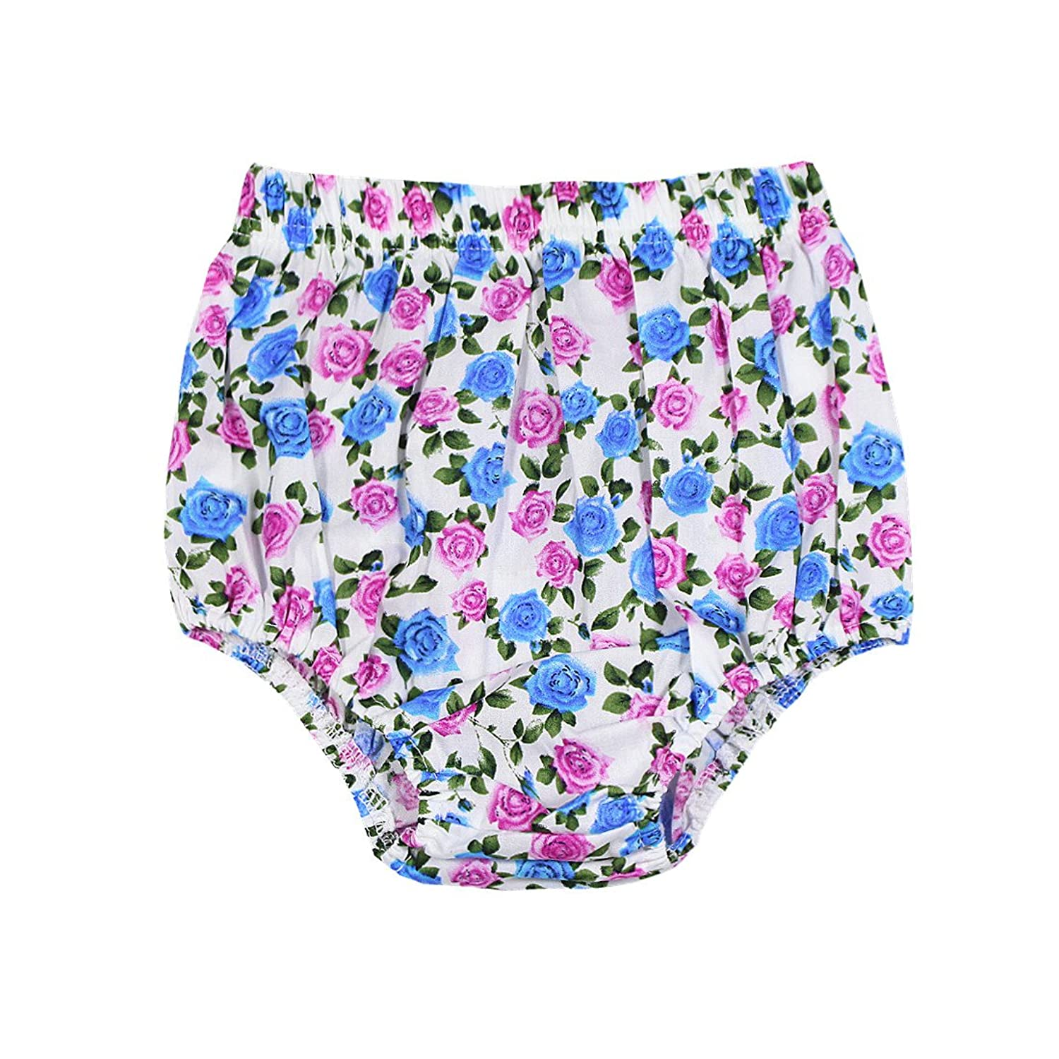 Peony Baby Baby Girl Bloomers Pantie 3m-24m Organic Diaper Cover